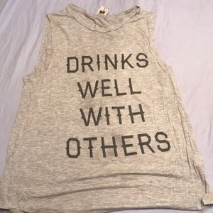 Stretchy tank top